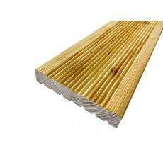Террасная доска Real Deck Сибирская лиственница 22х90/120, сорт: АВ